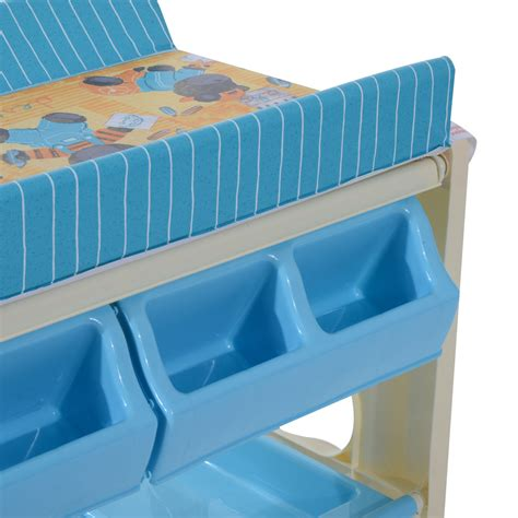 rolling baby changing table baby infant changing table unit rolling bath station