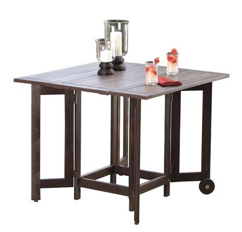 backyard chirper eucalyptus folding square table