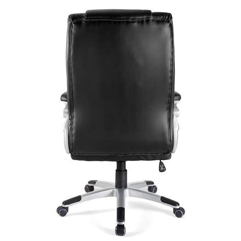 sillon de oficina sill 243 n de oficina baltimore en piel color negro sill 243 n