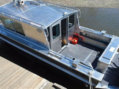 Cabin Boat by 27 Nitinat Aluminum Cabin Boat By Silver Streak Boats