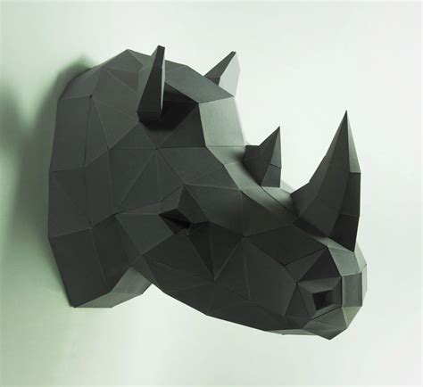 How To Make A Rhino Out Of Paper - how to make a rhino out of paper 28 images i found the