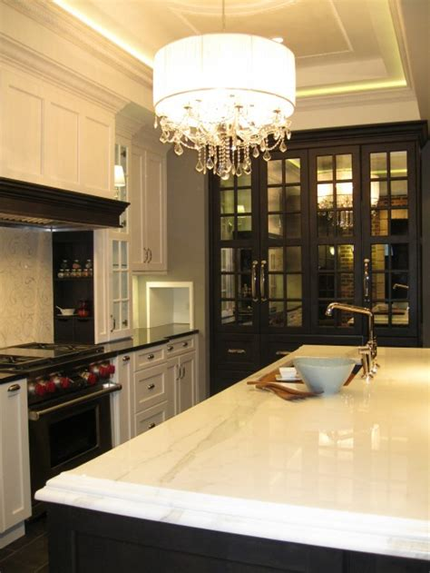 mirrored kitchen cabinets design ideas