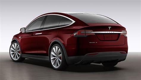 Tesla Suv Model X Tesla Model X Plugincars