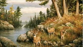 Wildlife Murals For Walls animals amp wildlife murals deer wall murals wallpaper