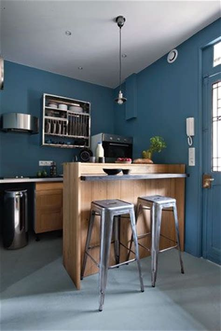 comment cacher une chaudi鑽e dans une cuisine comment agencer un espace de 34 m2 industrial lugares