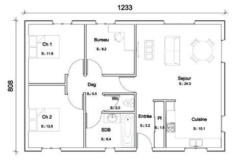 Plan De Maison Gratuit A Telecharger 3144 by Plans De Maison Gratuits Mambobc
