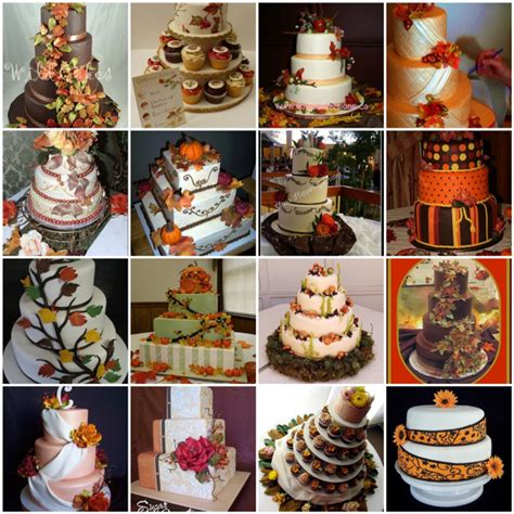 fall themed wedding fall and autumn themed wedding cakes here comes the