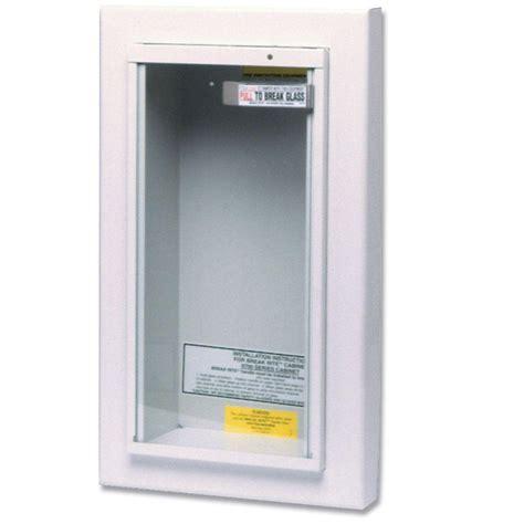 recessed fire extinguisher cabinet kidde 10 lbs semi recessed fire extinguisher cabinet