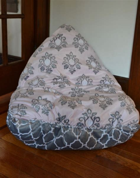 photo bean bag diy this no sew diy bean bag chair is a snap to make