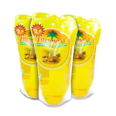 Minyak Tropical 2 Liter Di minyak goreng tropical 1 liter paket 4 pouch elevenia