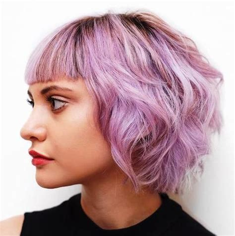do short blunt curly haircuts look good on heavy women 30 trendiest shaggy bob haircuts of the season