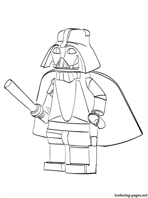 Star Wars Lego Coloring Page Coloring Pages Coloring Pages For Boys Wars Free