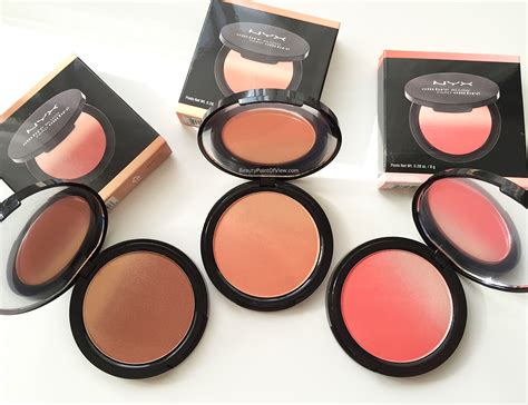 Nyx Blush In nyx ombre blush point of view