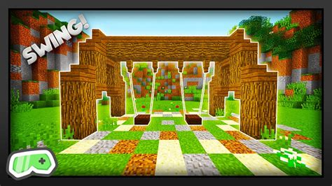 swing minecraft minecraft how to make a swing set