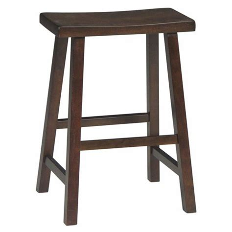 backless bar stools saddle seat international concepts baileyton counter height backless