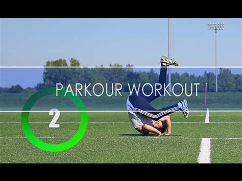 5 minute parkour workout