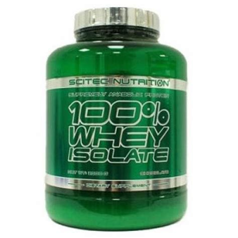 Whey Isolate Scitec Nutrition Scitec Nutrition 100 Whey Isolate 2kg Bodyfirst