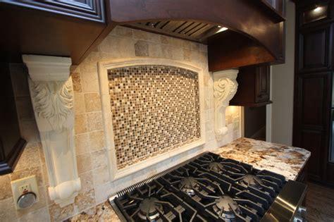 custom backsplash traditional kitchen cleveland by