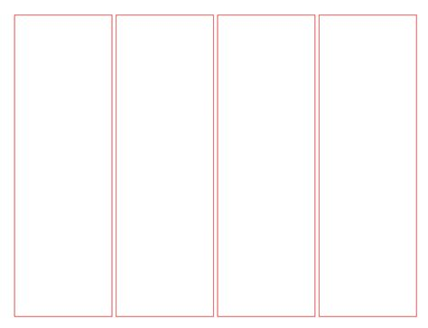 printable blank bookmark template pdf word calendar