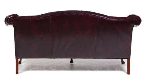 queen anne style sofa american queen anne style leather sofa