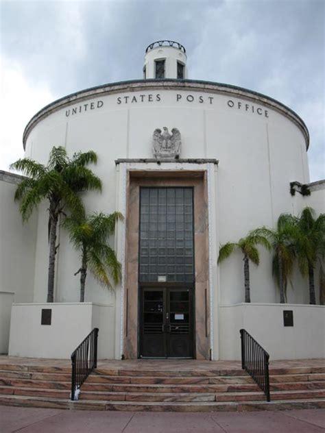 Miami Post Office by Miami Post Office 1300 Washington Avenue South
