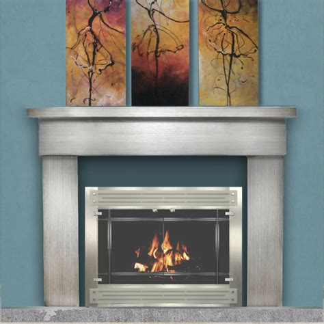 Prefabricated Fireplace Doors by Take Your Prefab Fireplace From Drab To Fab In A Snap