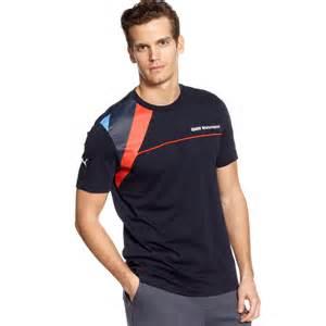 Bmw Shirts Bmw Tshirt In Blue For Lyst