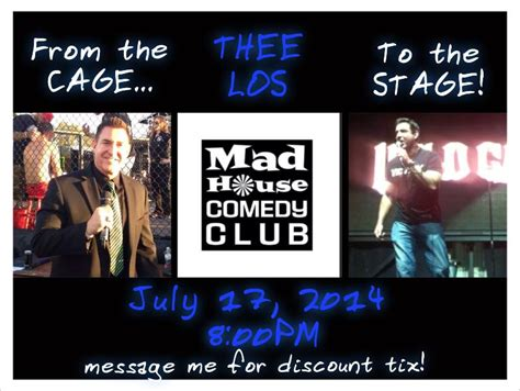 mad house comedy mad house comedy club july 17th carlos kremer