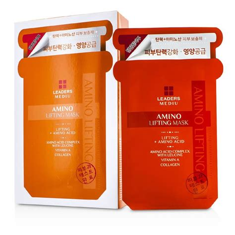 Leaders Mediu Amino Mask leaders mediu amino mask lifting all skin types
