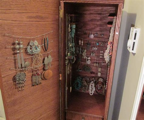 handcrafted jewelry armoire handmade jewelry armoire 2
