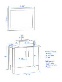 Bathroom Cabinet Height Inspiring Vanity Cabinet Height 6 Height Of Bathroom Vanity With Vessel Sink Neiltortorella