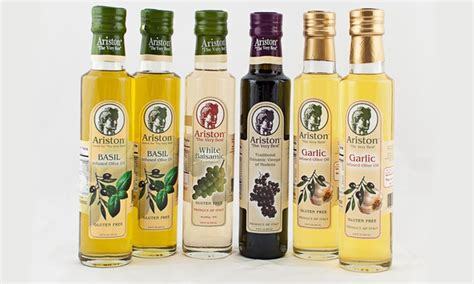 Olive Ij 1 ariston six olive and vinegar collection deal of the day groupon