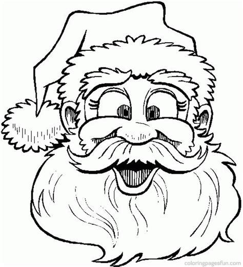 beard coloring santa claus with no beard coloring page coloring home
