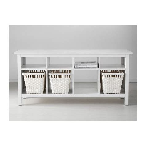 hemnes sofa table white stain