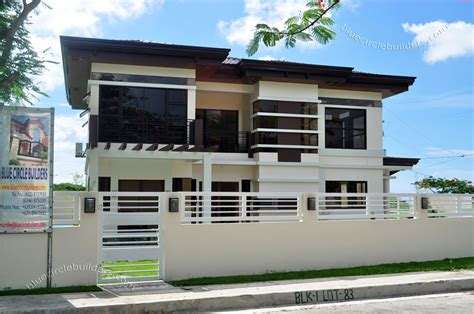 modern two storey house designs modern two storey villas