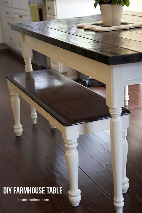 build your own kitchen table build your own farmhouse table for less than 150 picmia