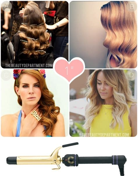 1 inch hair styles what does each curling iron do irons curls and curling