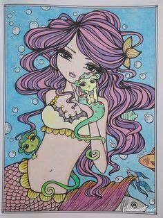 libro mermaids fairies other artist hannah lynn colourist rebecca edwards enchantedfaces hannahlynn inspiration hannah