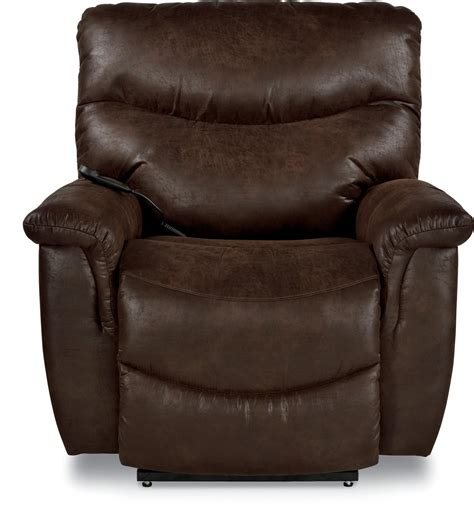 Luxury Lift Power Recliner by La Z Boy Casual Silver Luxury Lift Power Recliner