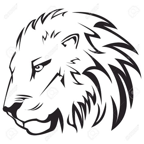 simple lion tattoo designs simple outline cake inspirations