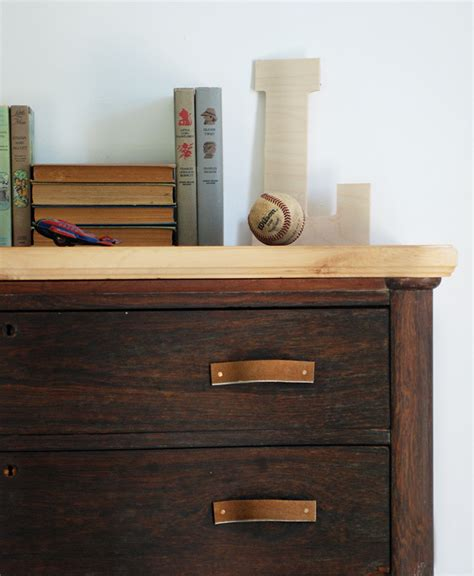 Leather Dresser by 14 Creative Diy Drawer Pulls You Can Make Yourself