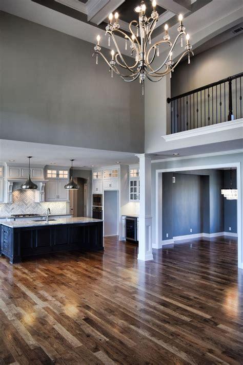 story great room catwalk open floorplan great room