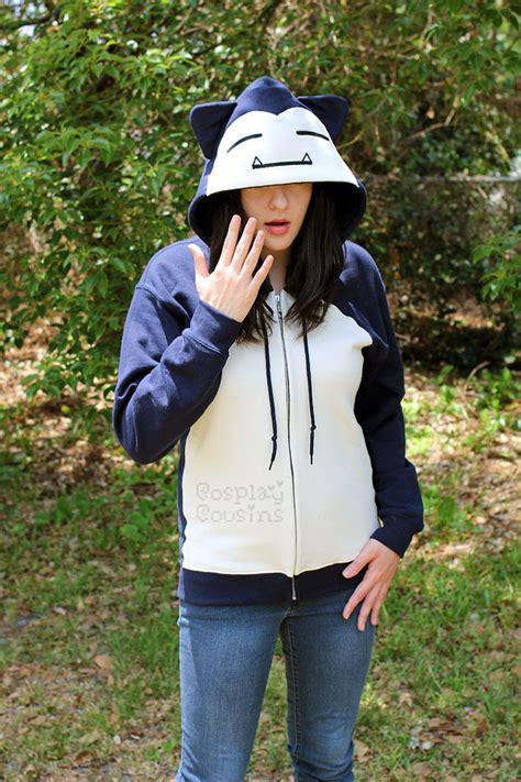 Snorlax Handwarmer snorlax inspired zipper hoodie by cosplaycousins on deviantart