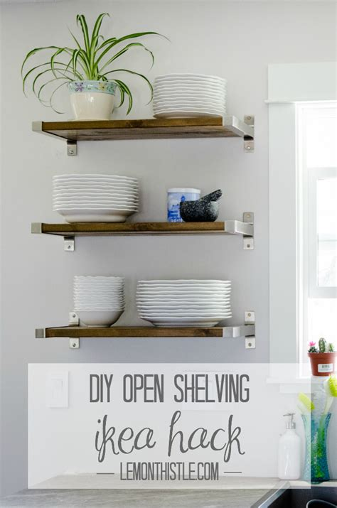 open kitchen shelving culture scribe 36th avenue pinterest crafts