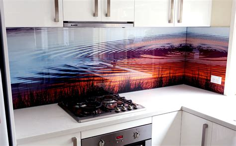 Backsplash Kitchen Design by Coloured Glass Kitchen Cooker Splashbacks Bathroom