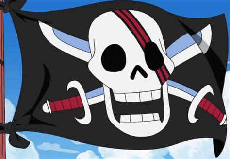 Hbj3128 One Haired Shanks Another Color Japan hair jolly roger
