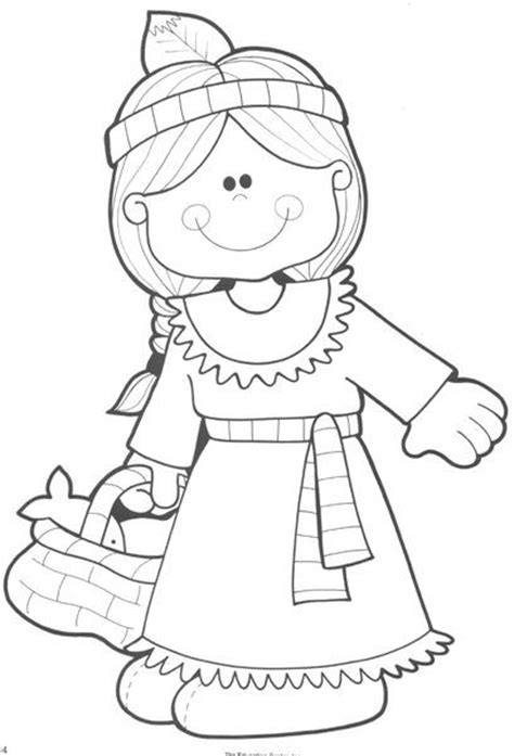 pilgrim indian coloring page pinterest the world s catalog of ideas