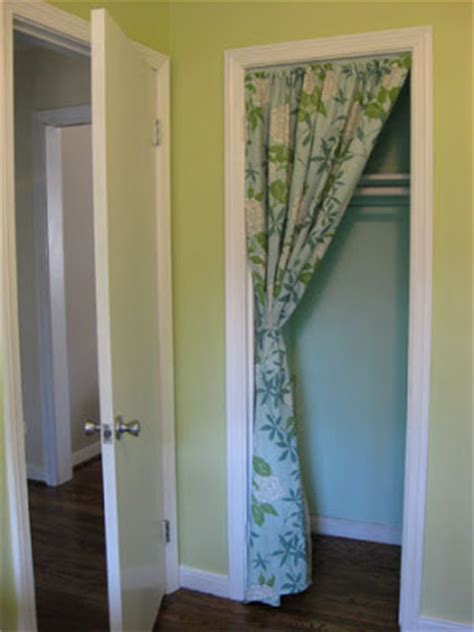 This Is How It Goes Using Curtains For Closet Doors Closet Door Curtain