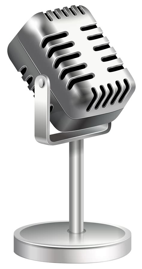 microphone clipart microphone clip black and white images 2019