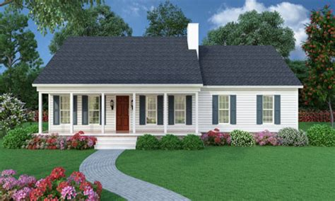 ranch style house plans with porch small house with ranch style porch sutherlin small ranch